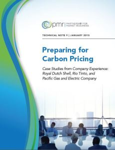 Preparing for carbon pricing